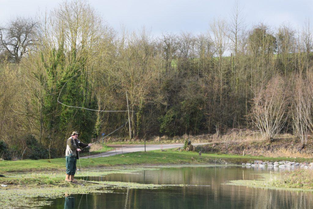 Fly Fishing La Cascade- Trout