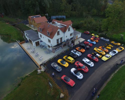 La Cascade- Drone View- Rallye- Lotus Car